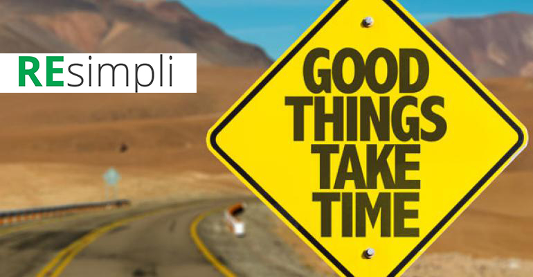 Good Things Take Time by Sharad Mehta