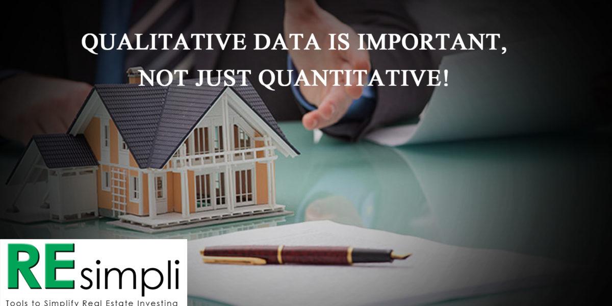 Qualitative Data is Important, Not Just Quantitative! by Justin Bone
